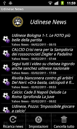 zNews - Udinese