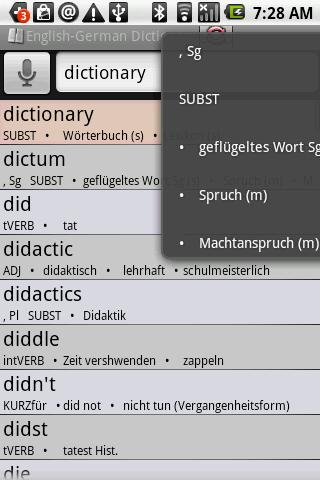 BKS English-German Dictionary
