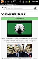 Screenshot of Anonymous Wiki