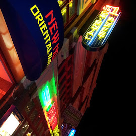 Chinatown by Darren Harrison - City,  Street & Park  Street Scenes ( signs, chinatown, restaurant, manchester, nightlife )