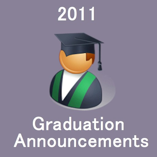 2011 Graduation Announcements LOGO-APP點子