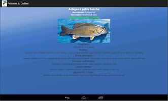Screenshot of Fish of Quebec