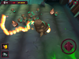Screenshot of Zombie Potatoes