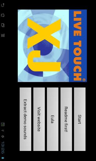 Live Touch XJ loop dj