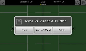 Screenshot of GameDay Stats - Lacrosse
