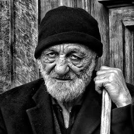 Old man by Vencislava Nestor - People Portraits of Men ( old man )
