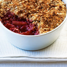 Forest Fruits Oaty Cinnamon Crumble
