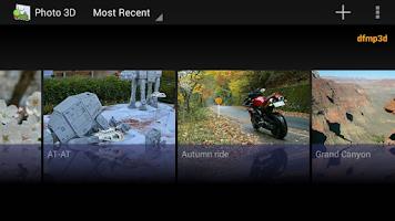 Screenshot of Photo 3D