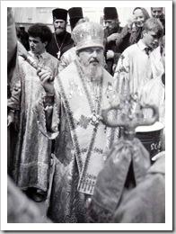 Владика Никодим - найстарший у єпископській хіротонії український архієрей. 1000 років хрещення Київської Русі в Луцьку. Як це було 21 червня 1988 року.