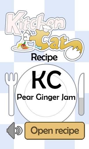 KC Pear Ginger Jam