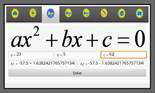 Algebra Helper 2+ - screenshot