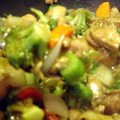 Easy Chicken Stir Fry