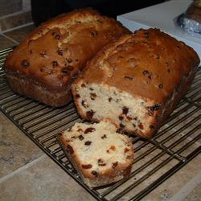 Eggnog Fruit Bread
