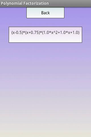 【免費教育App】多項式因式分解臨的-APP點子