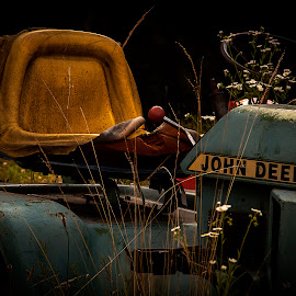 John Deere tractor found abandoned by Nancy Senchak - Transportation Other