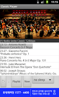 Screenshot of Classical Music Radio 24 hours