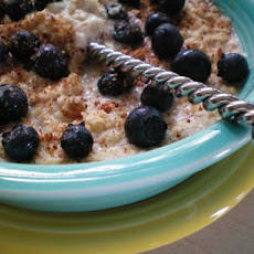 Protein Oatmeal With Blueberries