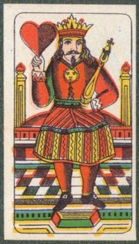 Rei de Corações, padrão de Ansbach