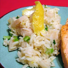 Awesome Crunchy Lemon Rice