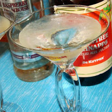 Mike's Peach Puff Martini