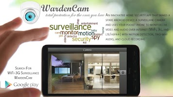Screenshot of Security IP-Cam CCTV WardenCam