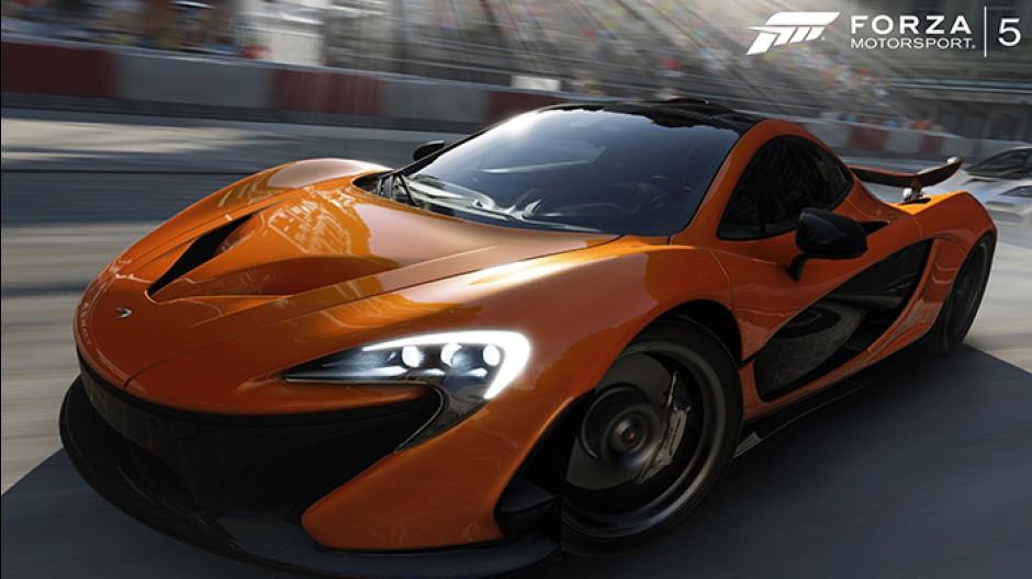 Mclaren P1 FRONT Forza Motorsport 5
