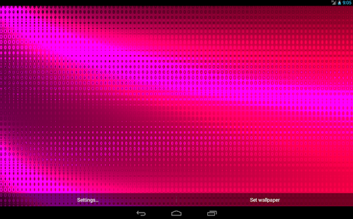 Abstraction Live Wallpaper - screenshot