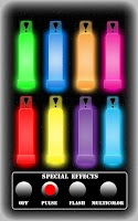 Screenshot of Party Glow Sticks