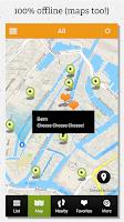 Screenshot of Paris guide by locals