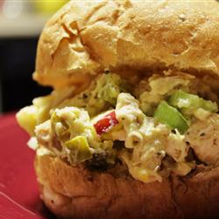Chicken Curry Salad in a Hurry