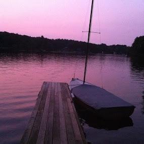 Twilight by Linda Hogue - Landscapes Sunsets & Sunrises
