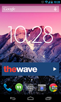 Screenshot of The Wave Radio