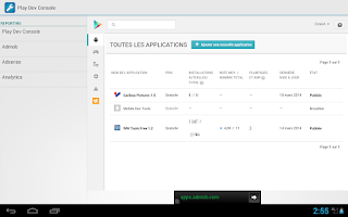 Screenshot of Mobile Dev Tools