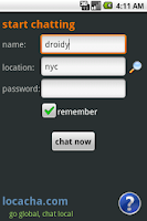 Screenshot of Locacha - Chat Rooms