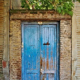 Blue Door by Khaled Ibrahim - Buildings & Architecture Other Exteriors
