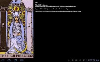 Screenshot of TarotBot tarot reader Ad Free