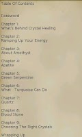 Screenshot of The Power of Crystal Healing