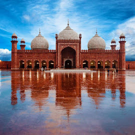Reflection by Zeeshan Khan - Buildings & Architecture Public & Historical (  )