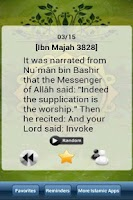 Screenshot of Hadith Every Day Pro