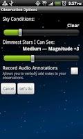 Screenshot of Meteor Counter