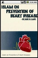 Screenshot of Prevention of Heart Diseases