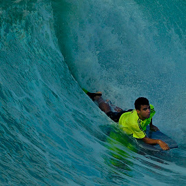 Surfing by Jose Matutina - Sports & Fitness Surfing ( surfer,  )
