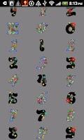 Screenshot of Alphabet stickers Doodle Text!