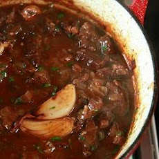 Boeuf Bourguignon With Shallots