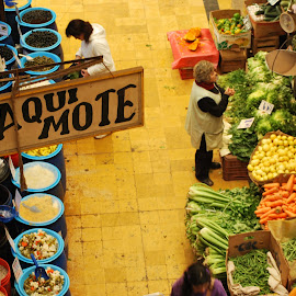 Valparaiso Market by Lisa Rath - City,  Street & Park  Markets & Shops ( chile, market, stall, colorful, vegetables )