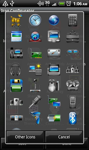 Gadgets - Crazy Icon Pack