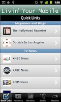 Screenshot of Los Angeles Local News