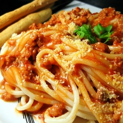 Spaghetti with Italian Meat Sauce