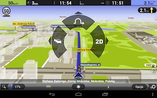 Screenshot of AutoMapa