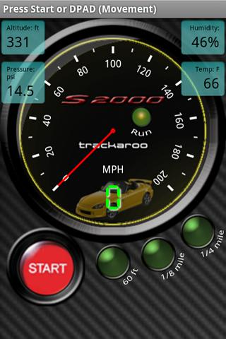 S2000 Speedo Dynomaster Layout